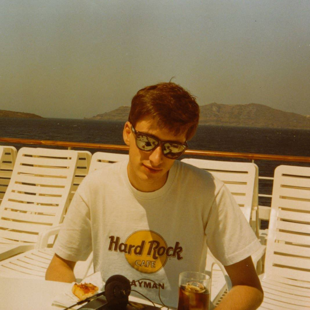 The author at fifteen years of age.