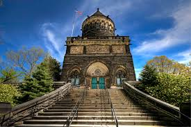 The Garfield Memorial. No silly, not the cat, the 20th President of the United States.