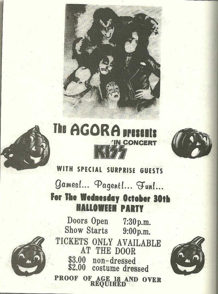 The Agora - October 30, 1974
