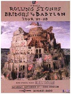 Stones 1997 Columbus Poster