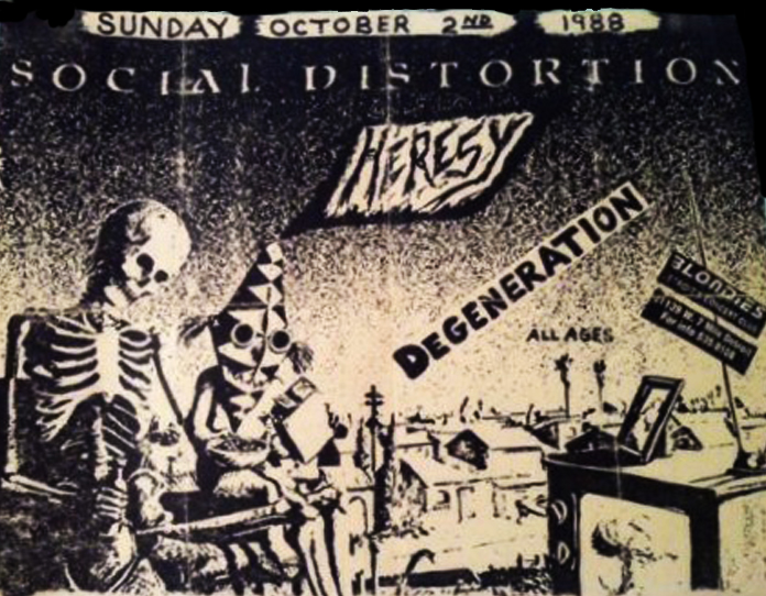 Social Distortion - Detroit 1988