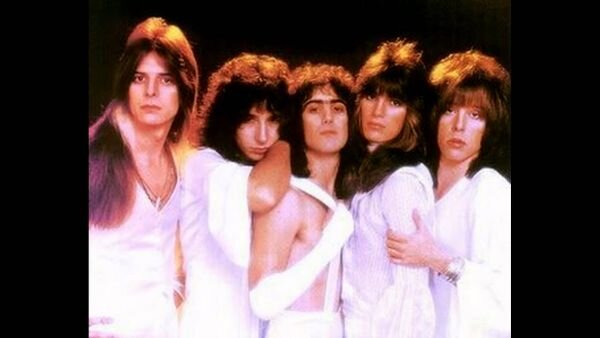 Original Angel line up during the 70's.