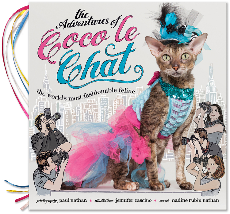 Learn more about Coco Le Chat and see the book here!