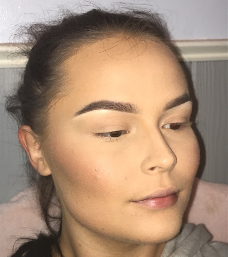 Highlight/Contour can sometimes wash out your complexion, so it's usually a good idea to add some more color to the cheeks with blush. When applying blush, keep in mind the ways your cheeks naturally flush.