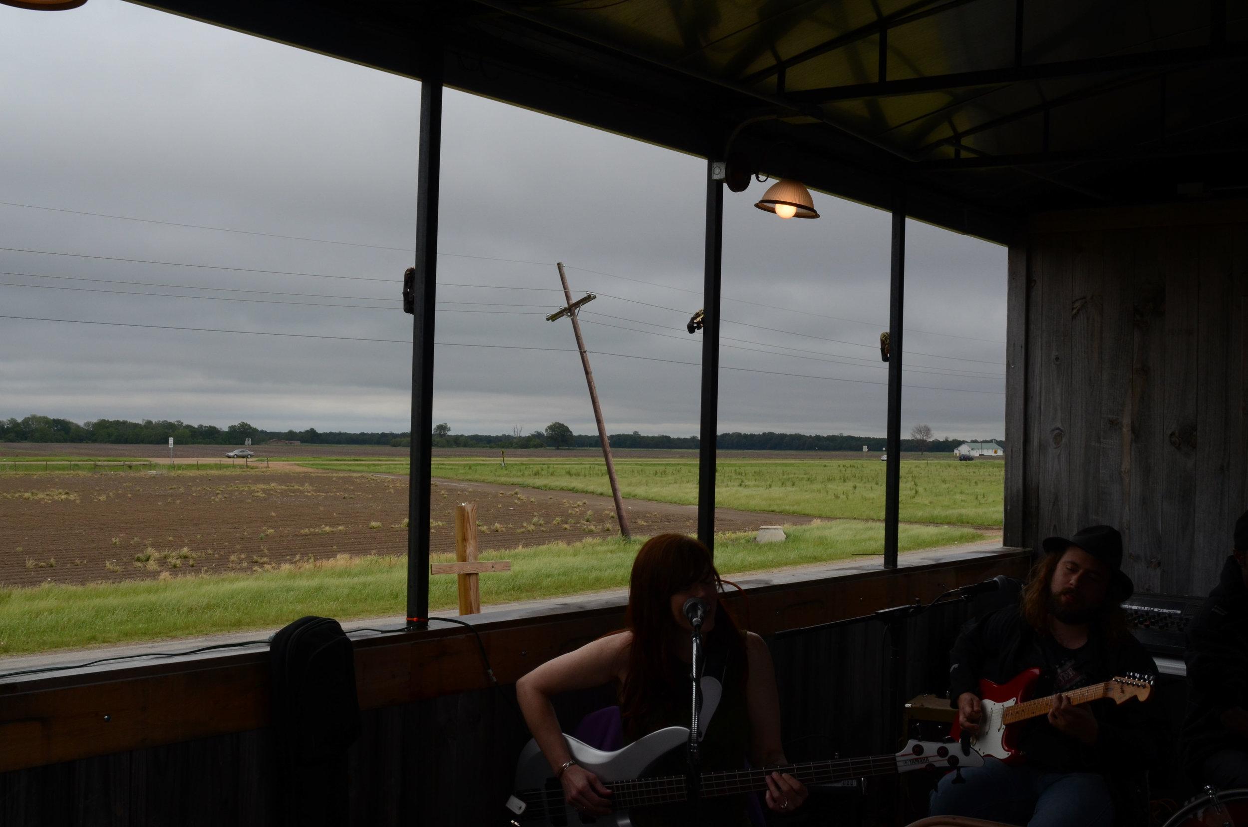 Juke Joint Train to Hopson Plantation, Clarksdale, MS, April 2017.