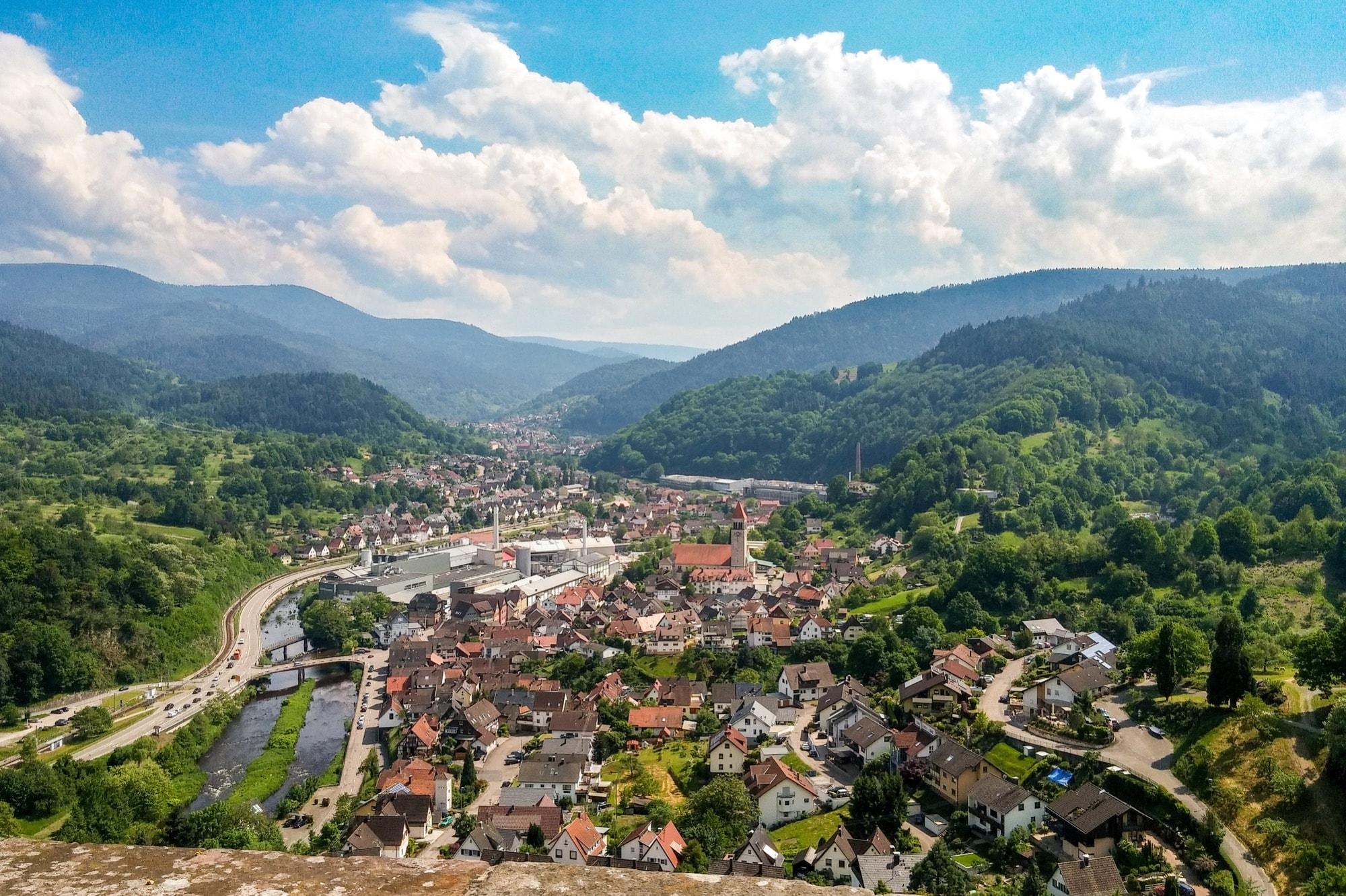 Murg Schwarzwald Burg von Eberstein