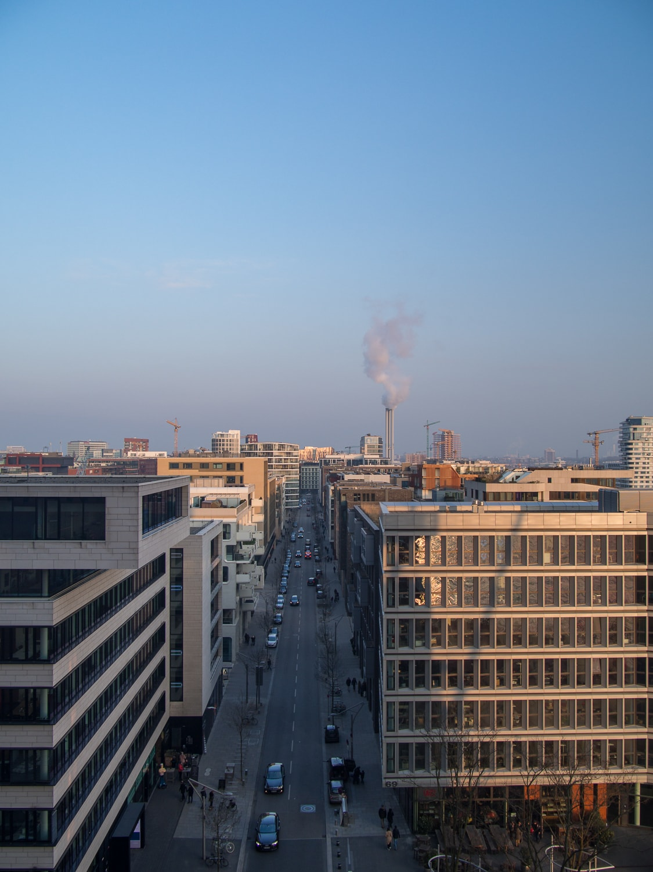 Elbphilharmonie Frühling Himmel Stadt Hamburg Ausblick Hafencity