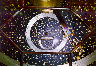 Orrery constructed by David Rittenhouse, now housed in the library at U-Penn.