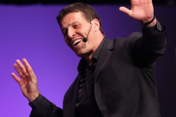 """Life success coach,"" Tony Robbins"