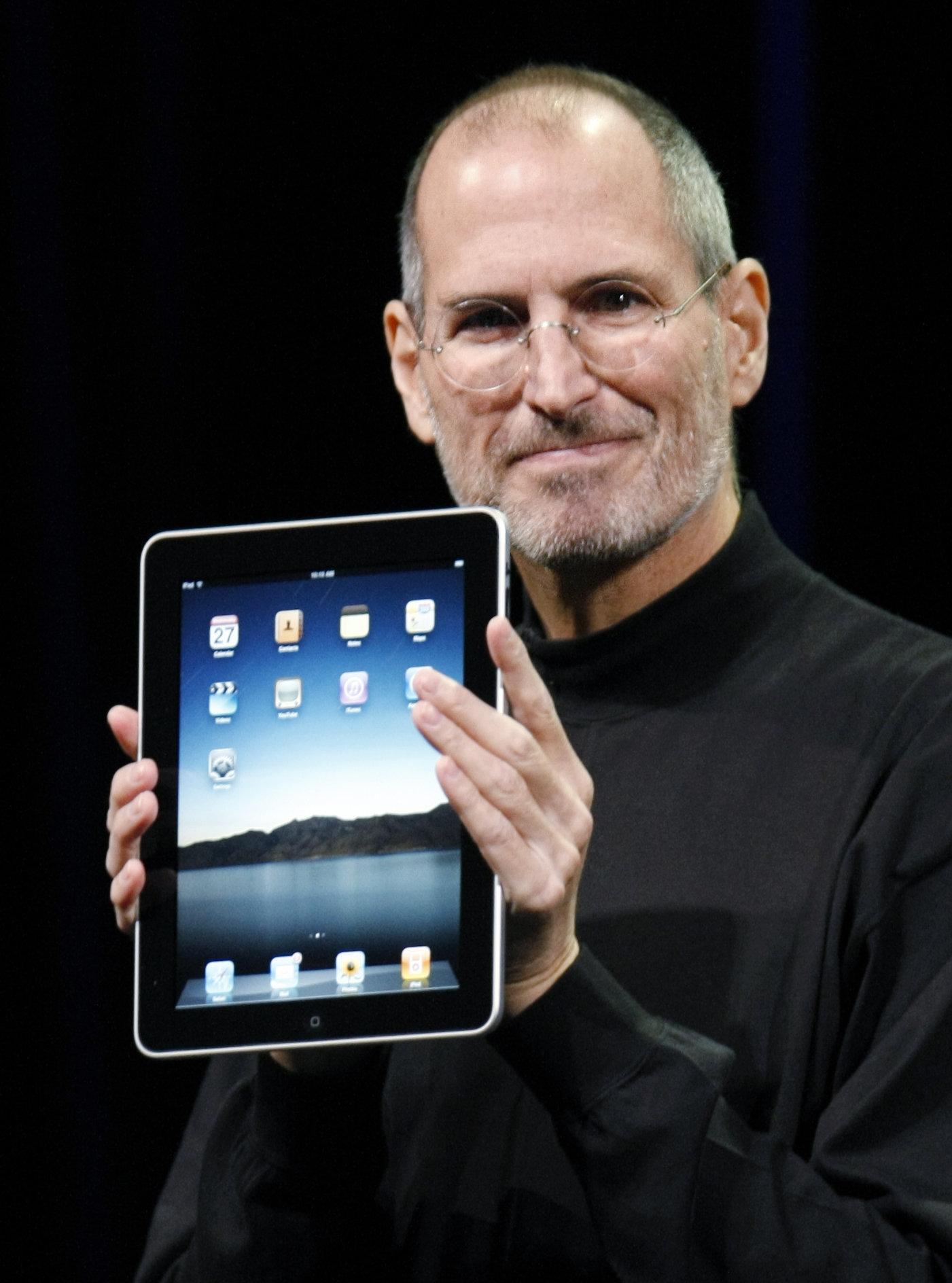 Former CEO of Apple Computers, Steve Jobs