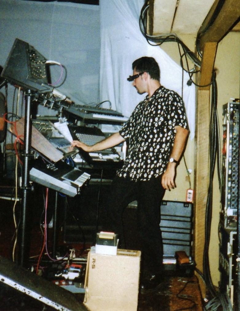 Len Del Rio on tour in 1997.