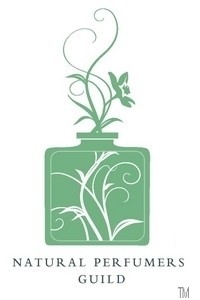 Wave of the future? Logo for the Natural Perfumers Guild, established in 2006.