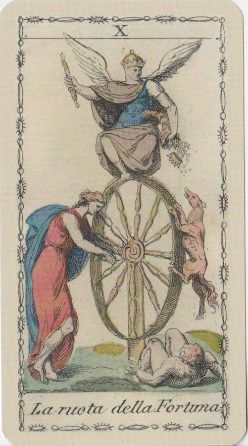 The Wheel of Fortune in the Ancient Tarot of Lombardy