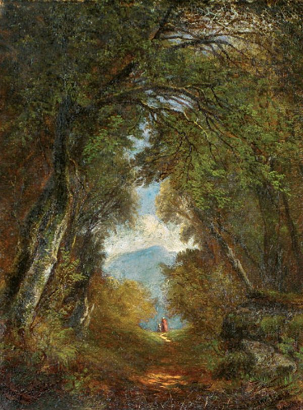 Forest Interior , by Mary Josephine Walters