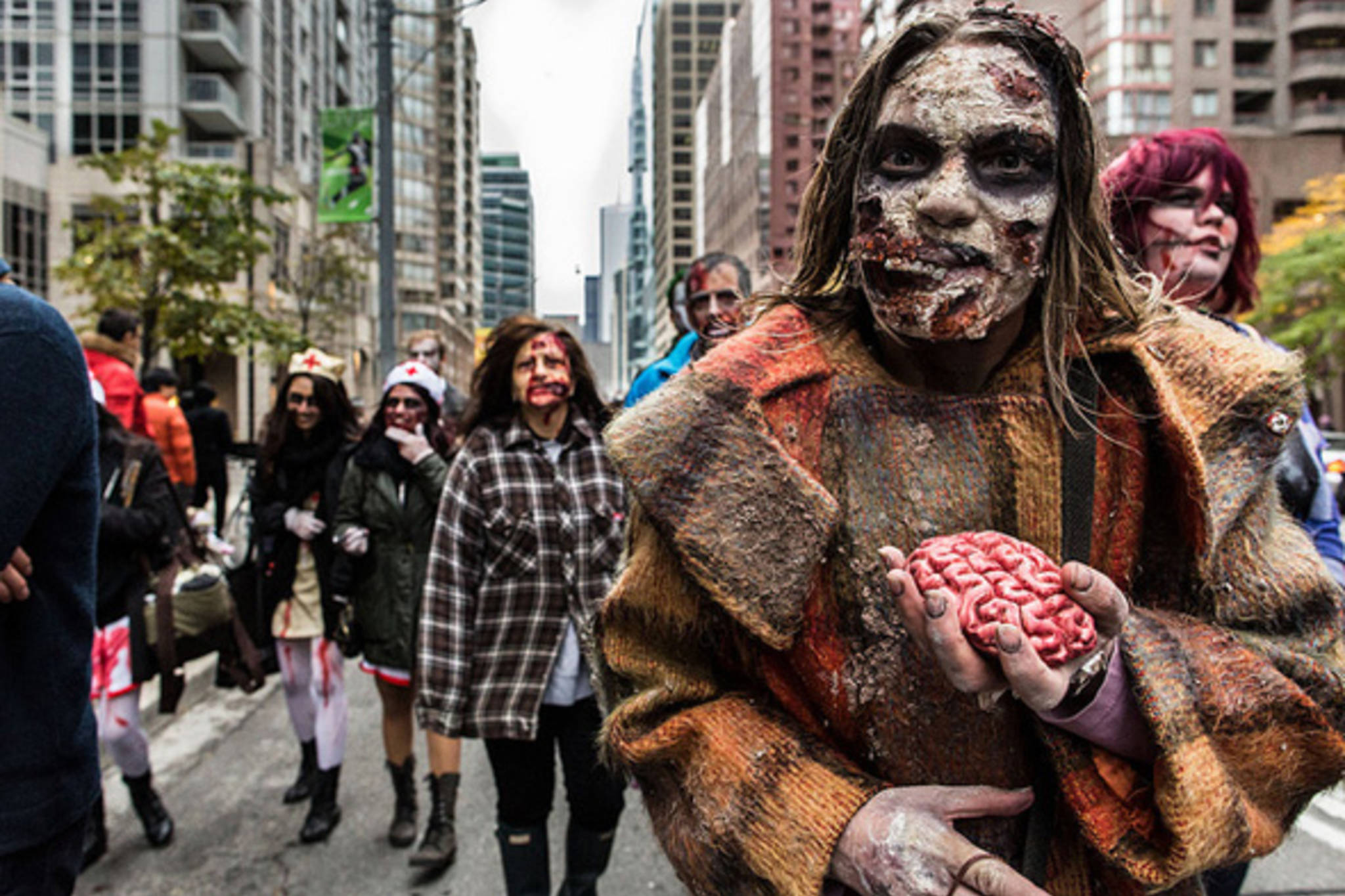 Public festivals called Zombie Walks are popular in many countries across the world
