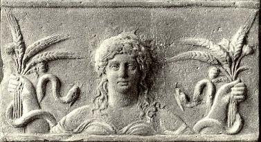 The Chthonic goddess Demeter-Ceres