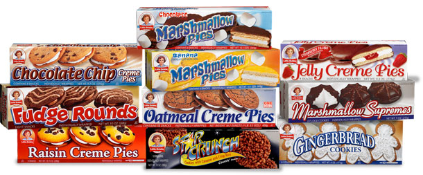 Sadly, we had a pantry that closely resembled the contents of this picture, and downing pre-packaged sugary cakes are my most visceral childhood food memories ...