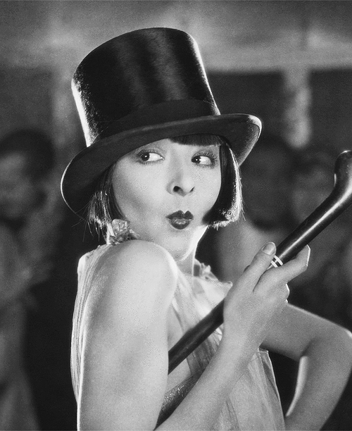 There was once a magical place in Los Angeles called The Silent Movie Theatre, and I'm talking about the ownership previous to CineFamily when they  actually screened silent movies . I made that place my second home, and that's when I fell in love with silent vamps like COLLEEN MOORE. Image is from  We Moderns  (1925).