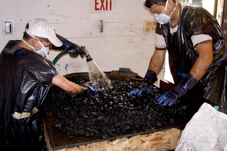 Coal Washing for exhibit