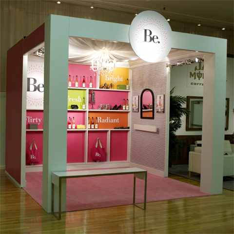 Be. booth NYC Fashion Week