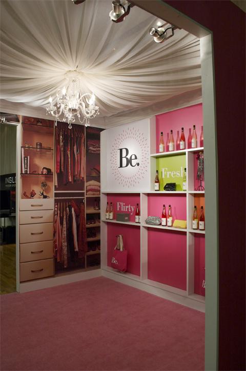 Be. wines at NYC fashion week