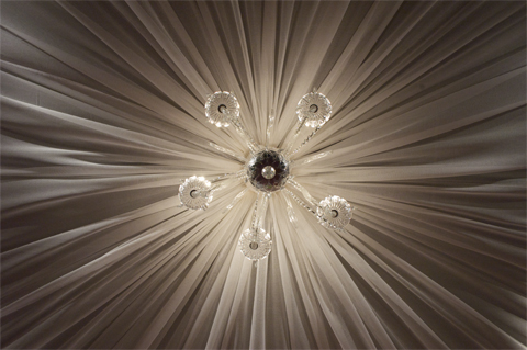 Be. chandelier detail