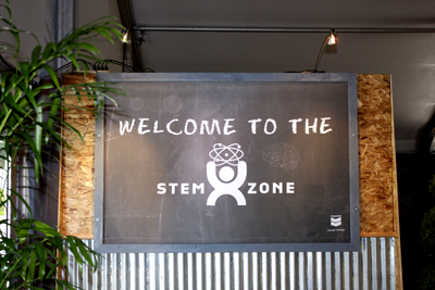 welcome to the stem zone