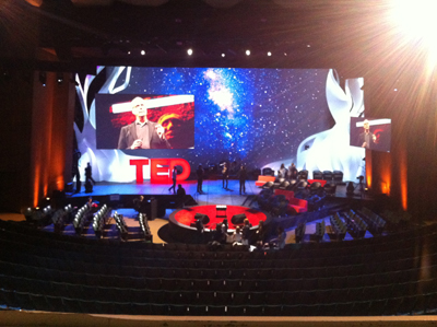 TED main stage