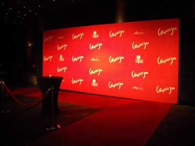 Penfolds Red step and repeat