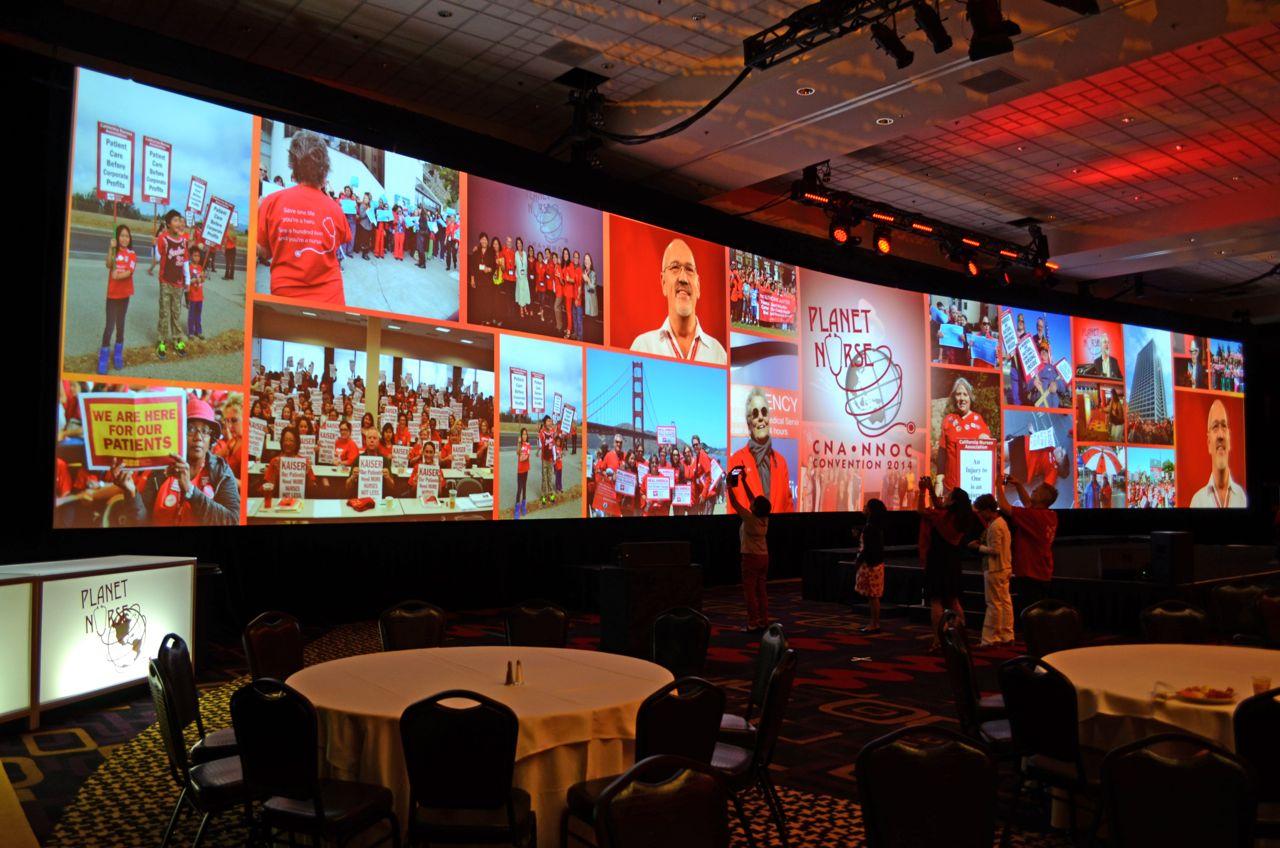 California Nurses Association Convention 2014