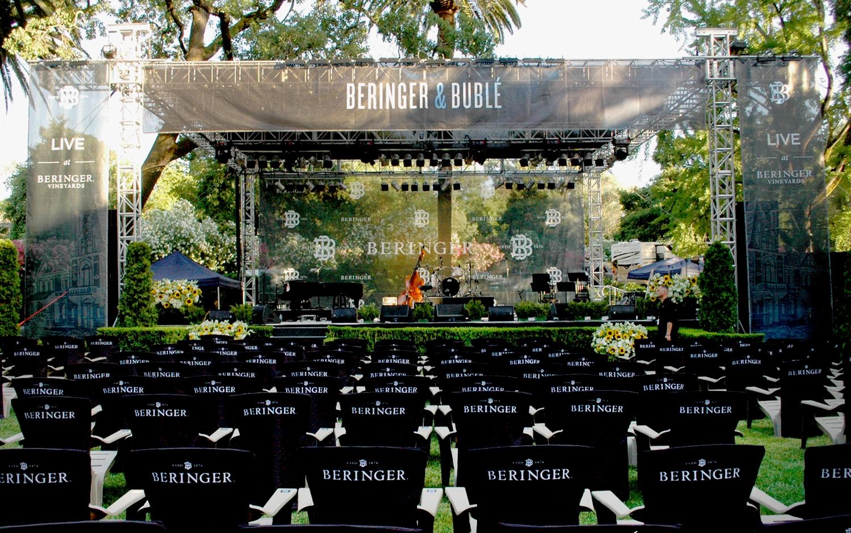 Beringer & Bublé Concert Series