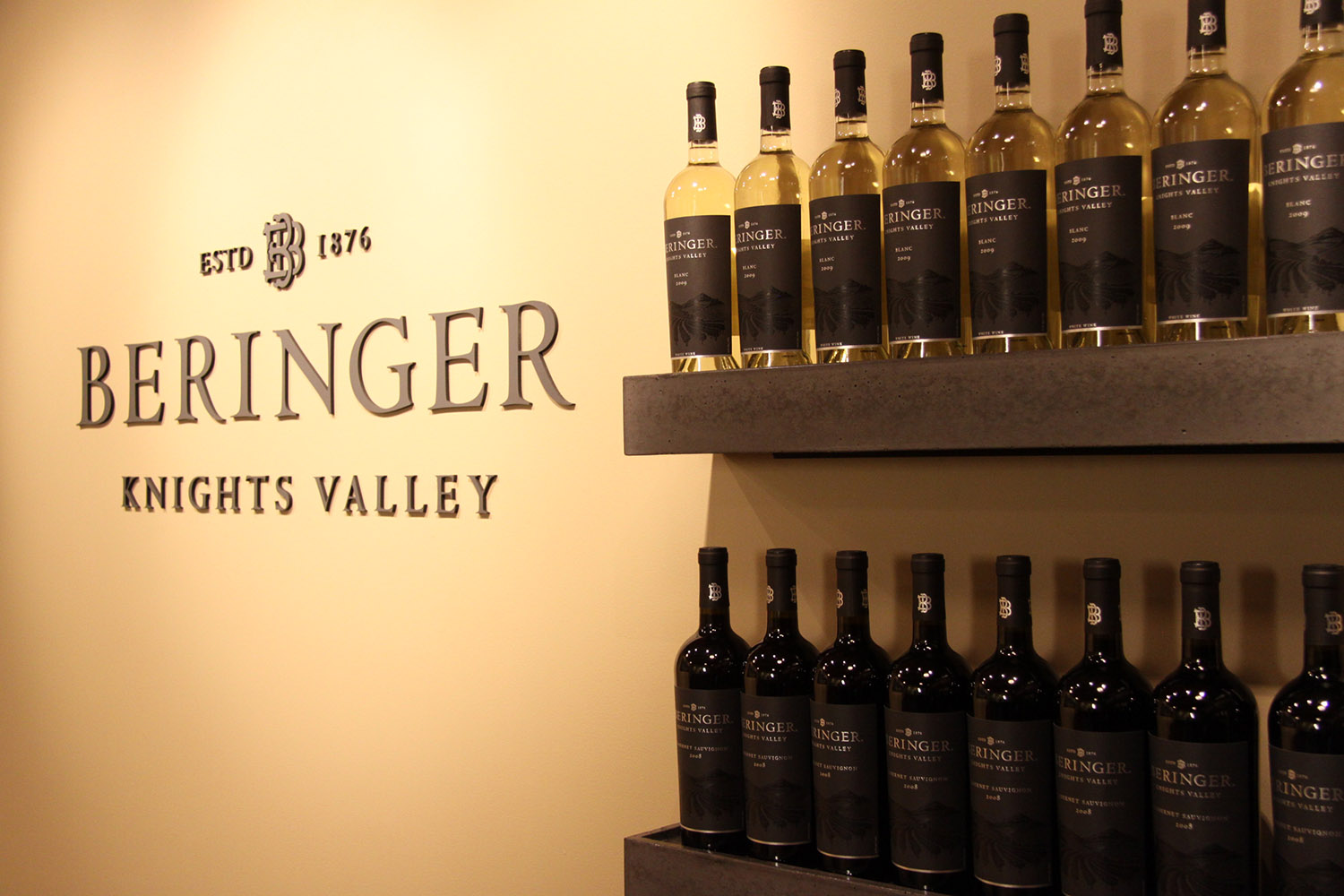 Beringer Knights Valley Experience