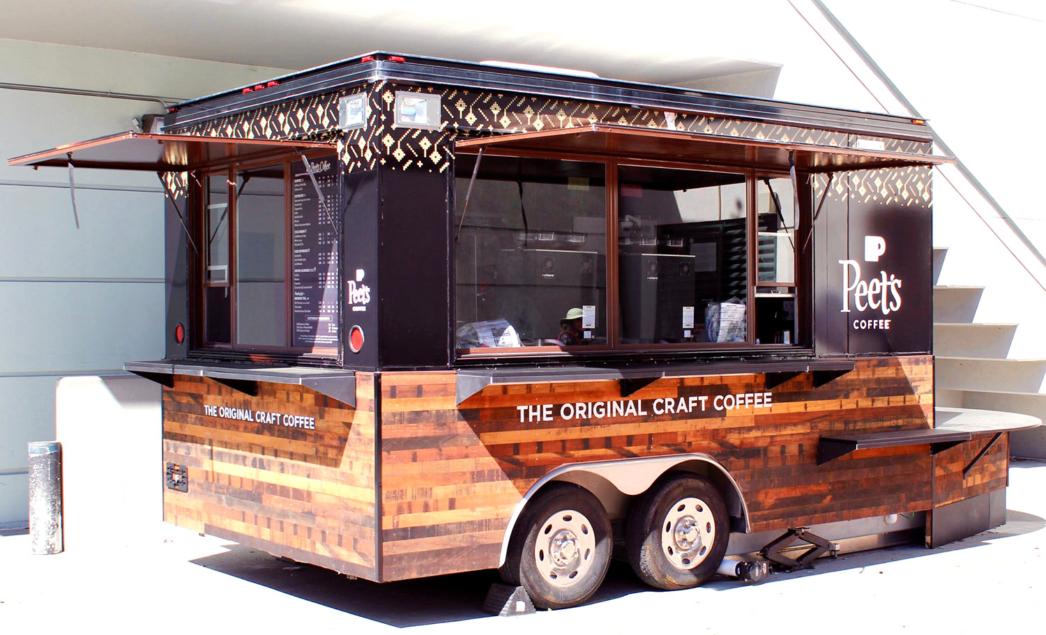 Peet's Coffee Cart at UC Berkeley