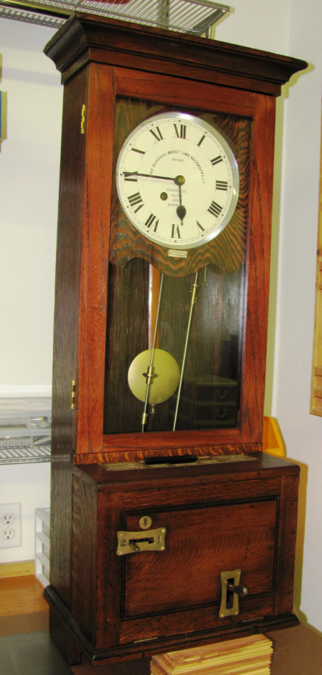 Gledhill Brook Time Recorder. Ca 1930.
