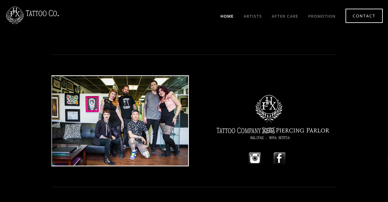 HFX Tattoo Company
