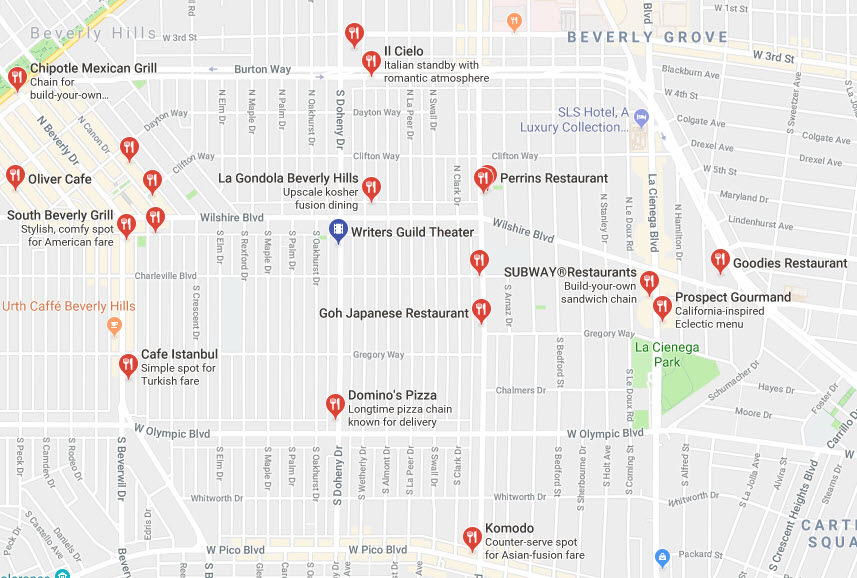 Venues & Parking — BuddhaFest LA on cafes nearby, food delivery nearby, parks nearby, attractions nearby, japanese gardens nearby,