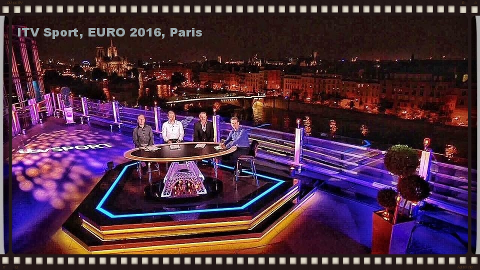 Jimmy Jib supplied to ITV Sport for the EURO 2016 Studio in Paris
