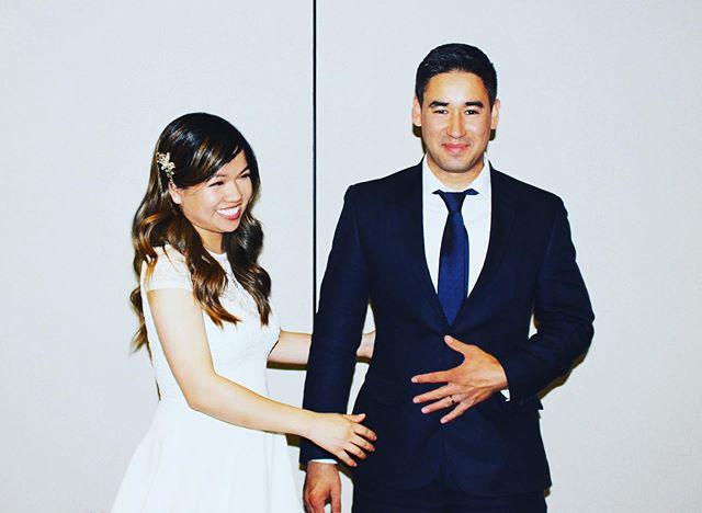 囍  One of the last candid shots of the evening ended up being my fave. #babybrothergotmarried (sorta)