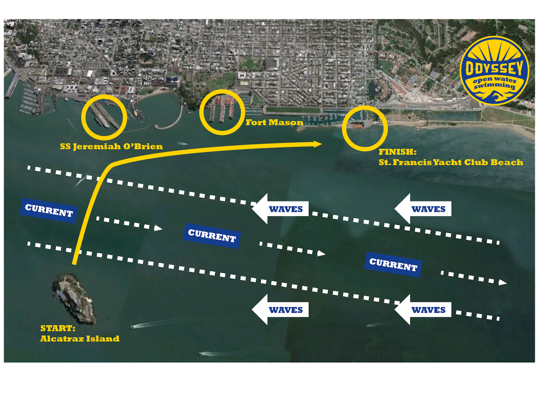 Alcatraz Course Map
