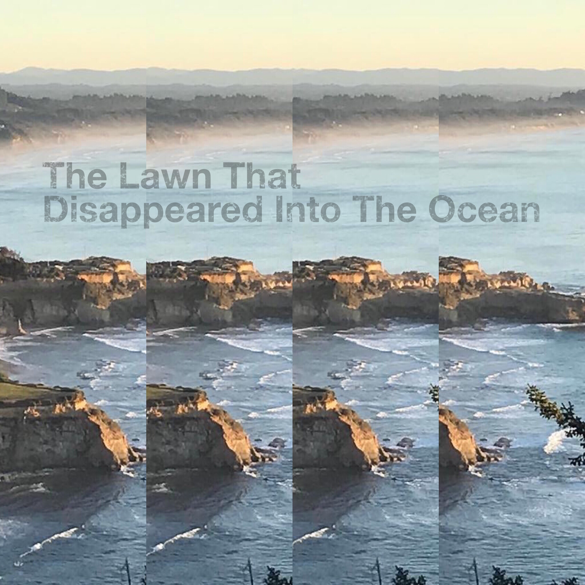 The Lawn That Disappeared Into The Ocean    March 2019