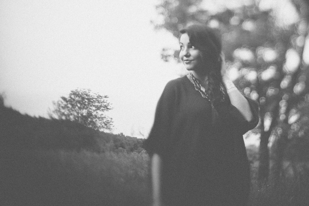 One more freelensed, candid of Sonya in the field.