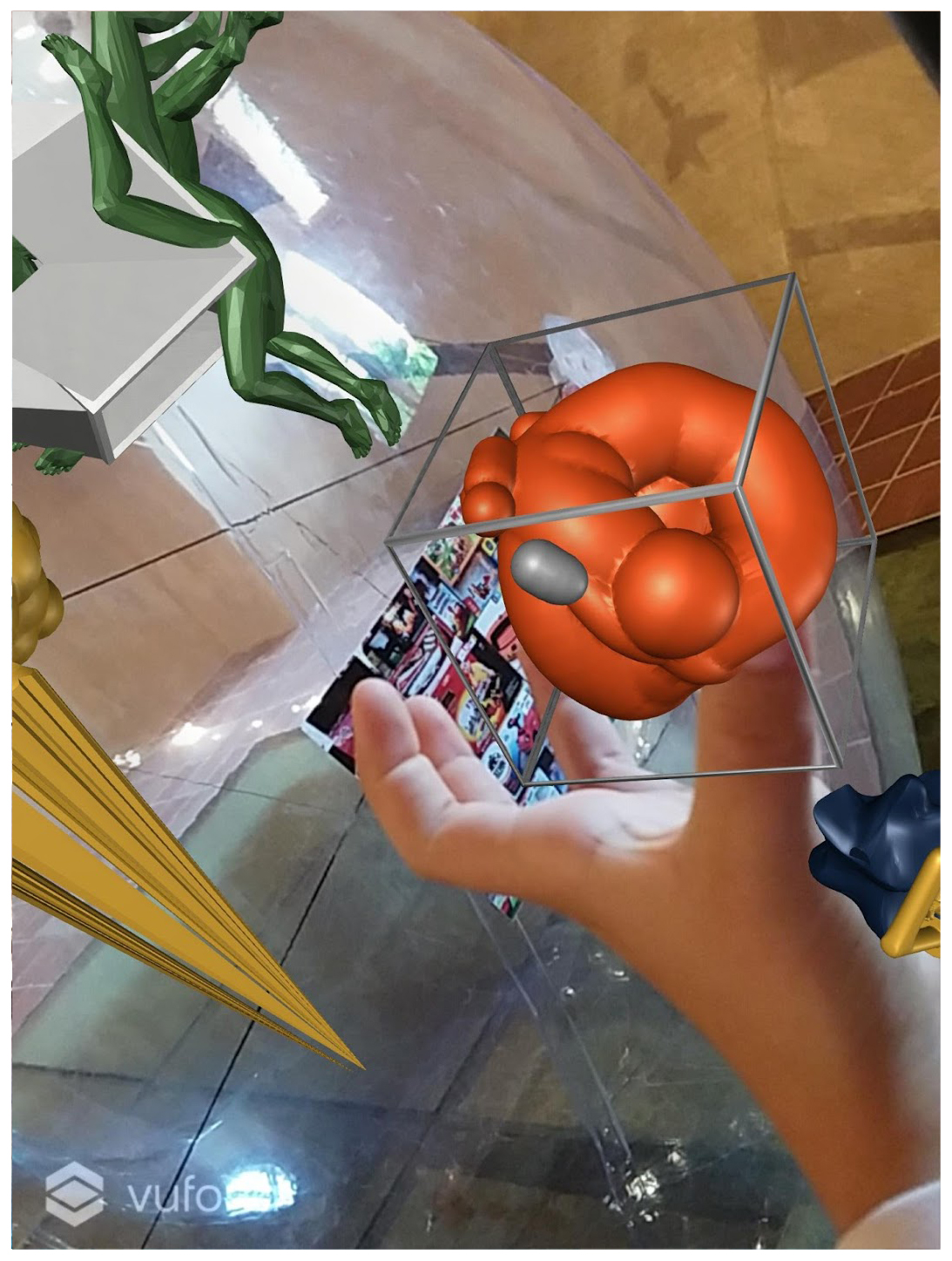detail view augmented reality app
