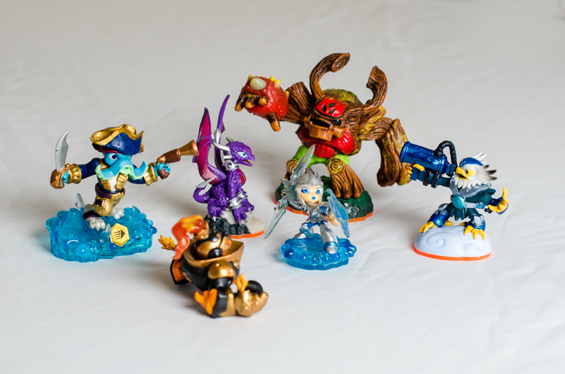 ....... and what session isn't complete without some Skylander figures?!!  Exactly!  No shoot is complete!