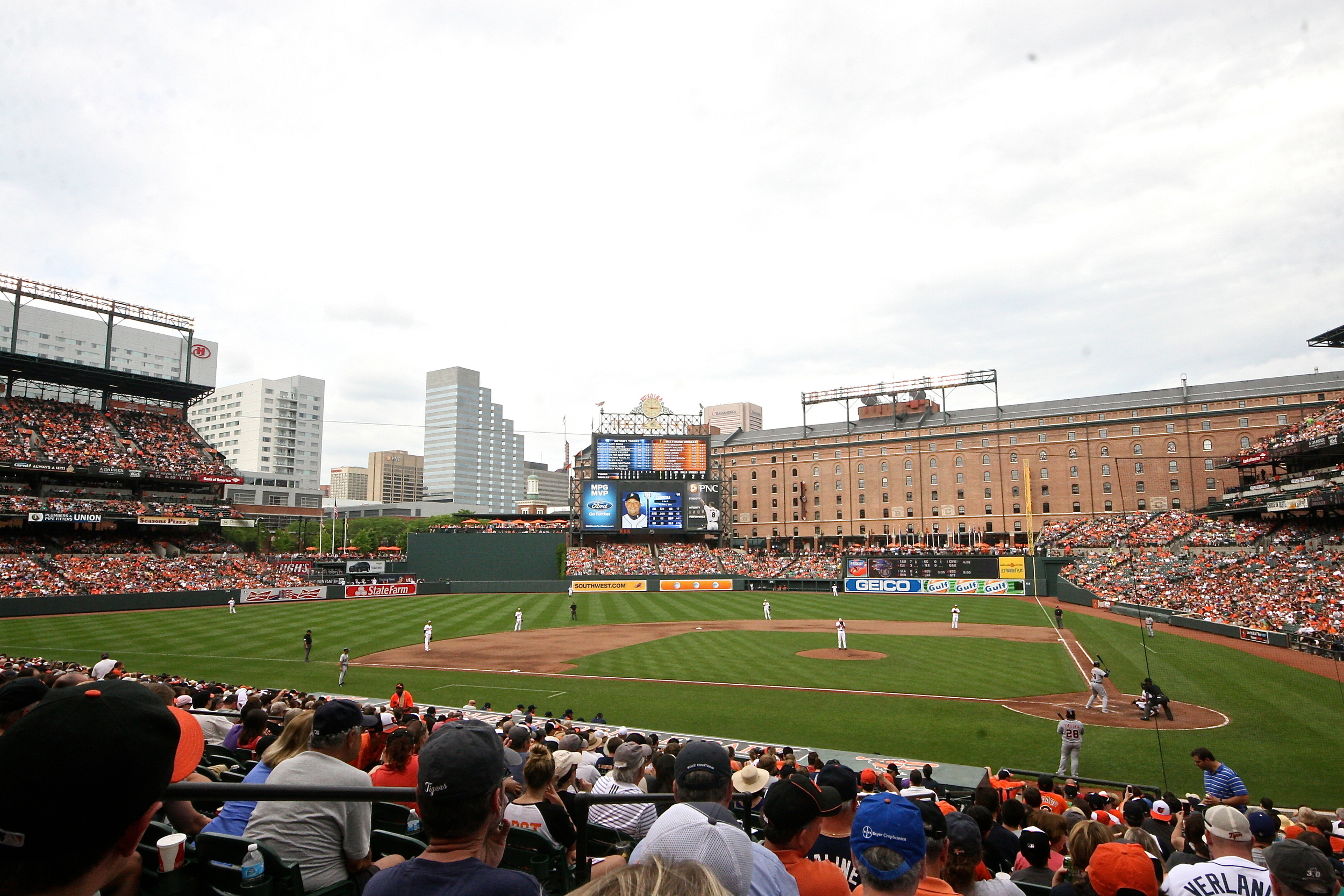 Game two at Camden Yards