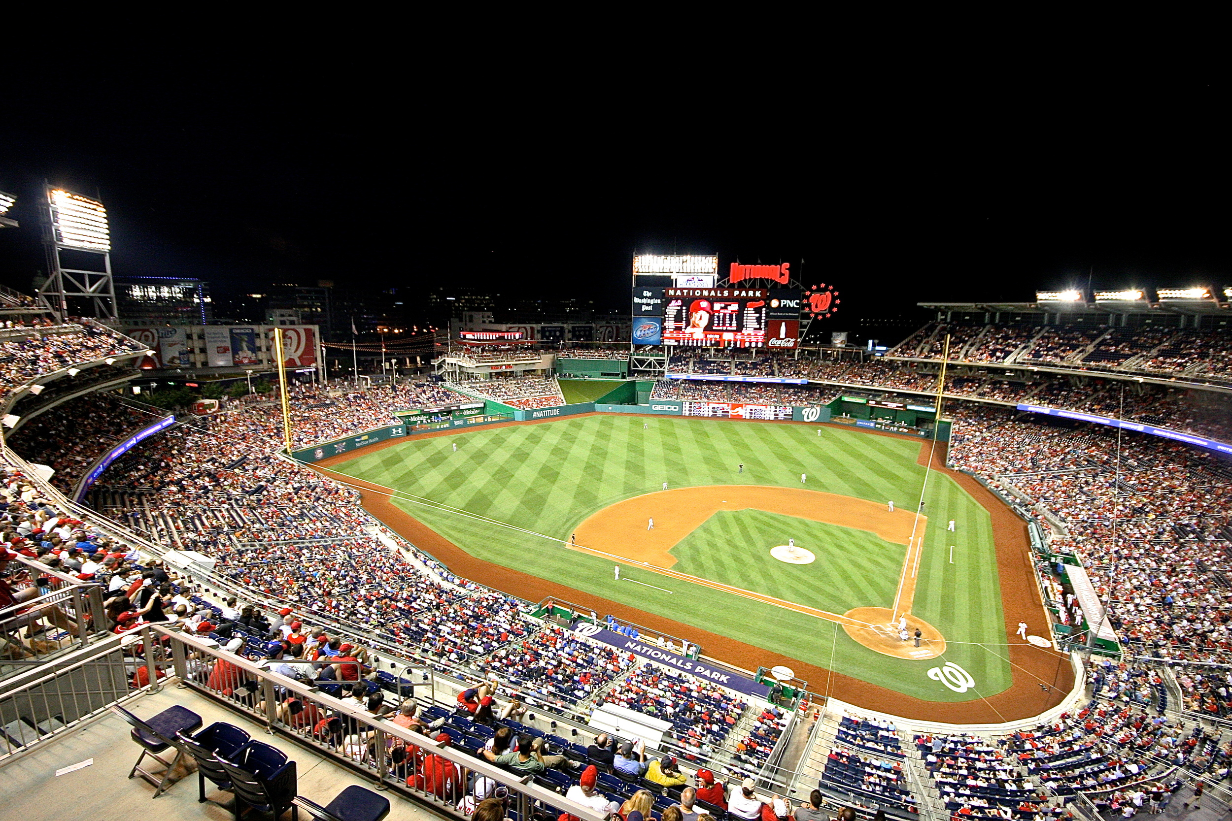Packed Nationals Park