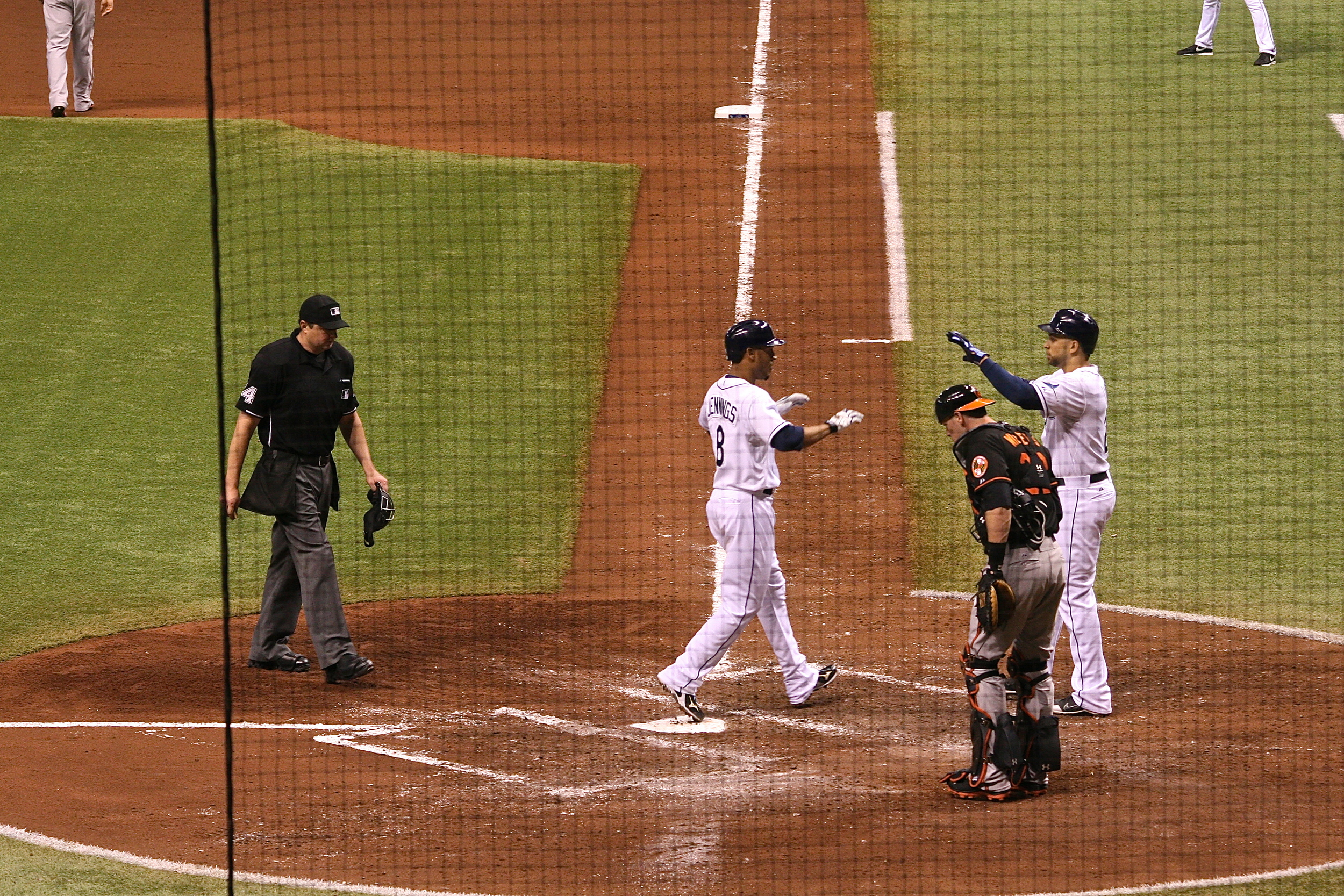Desmond Jennings with the go-ahead home run
