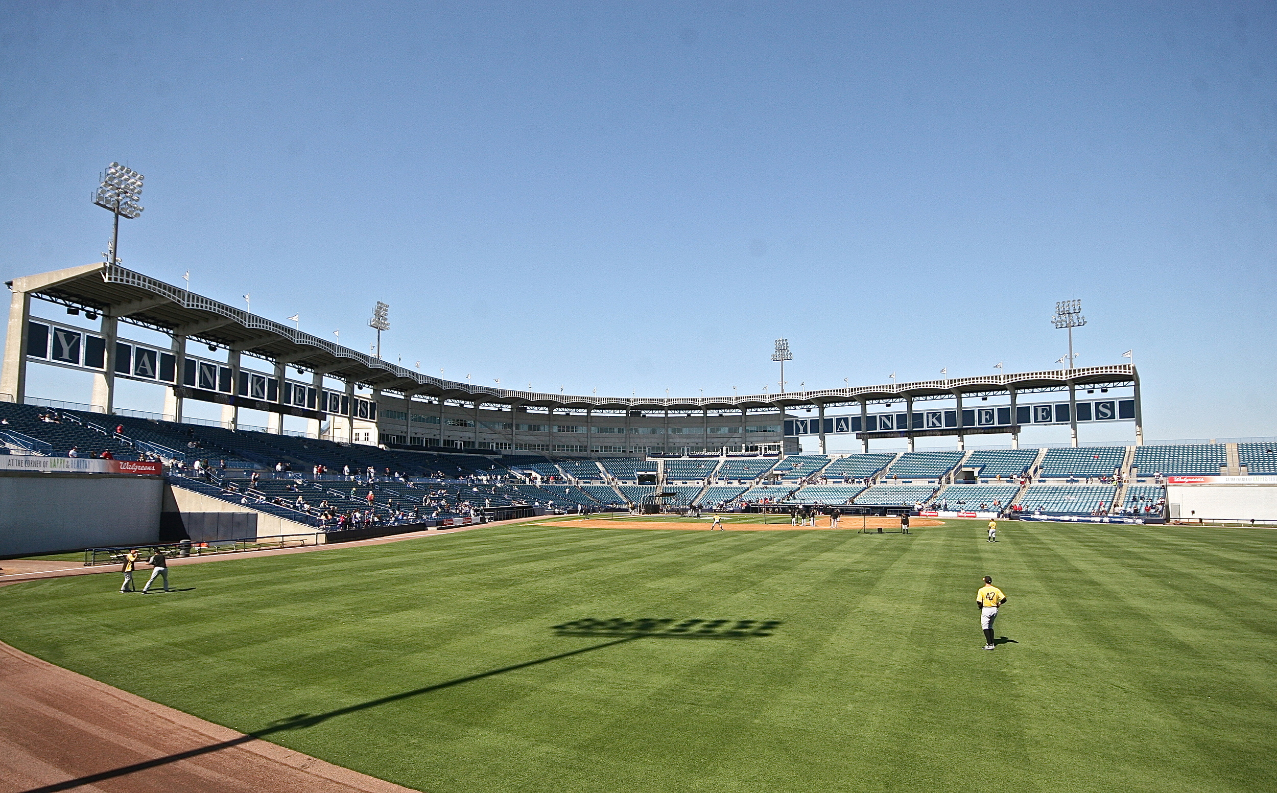 Steinbrenner Field, home of the New York Yankees