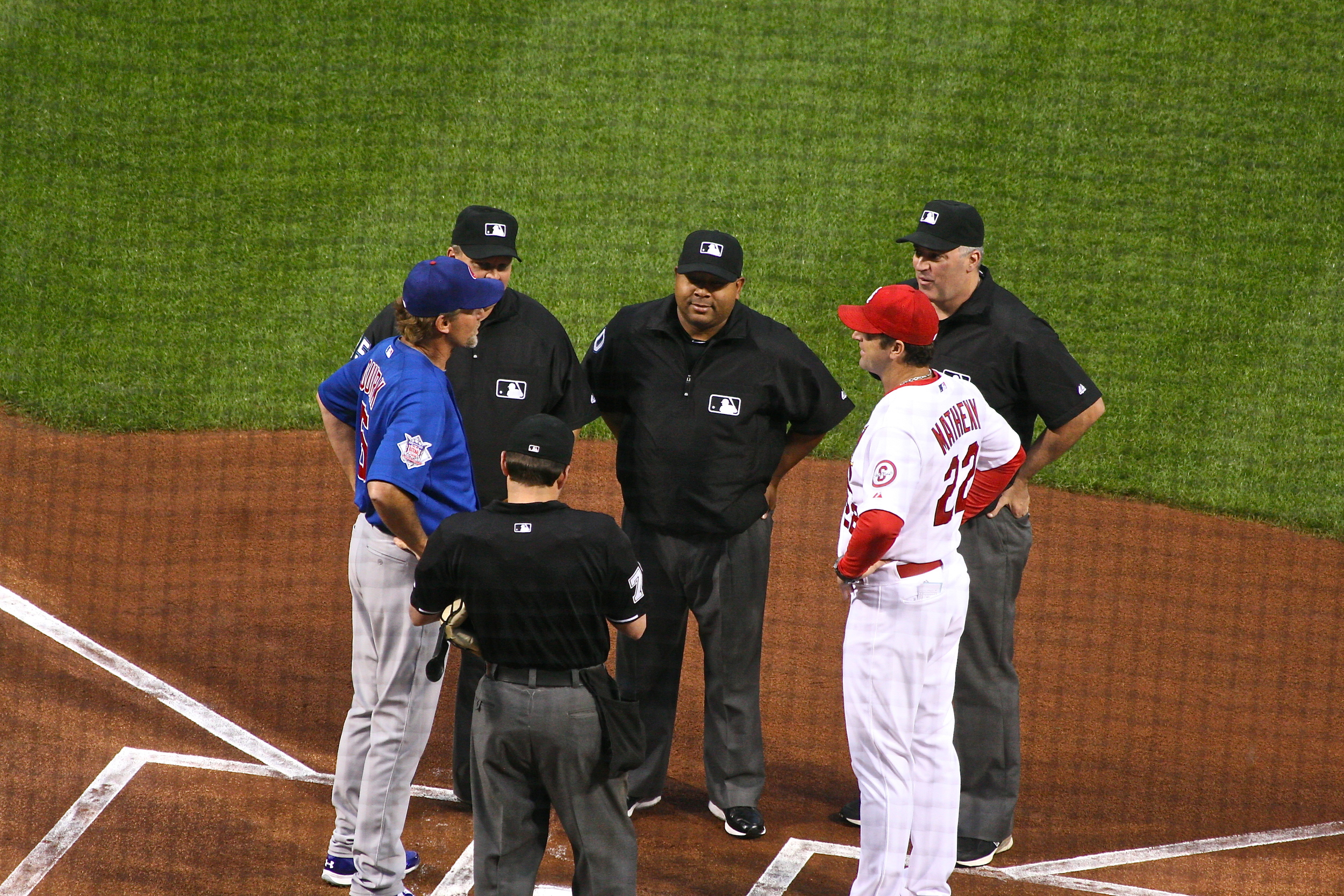 Exchanging lineups