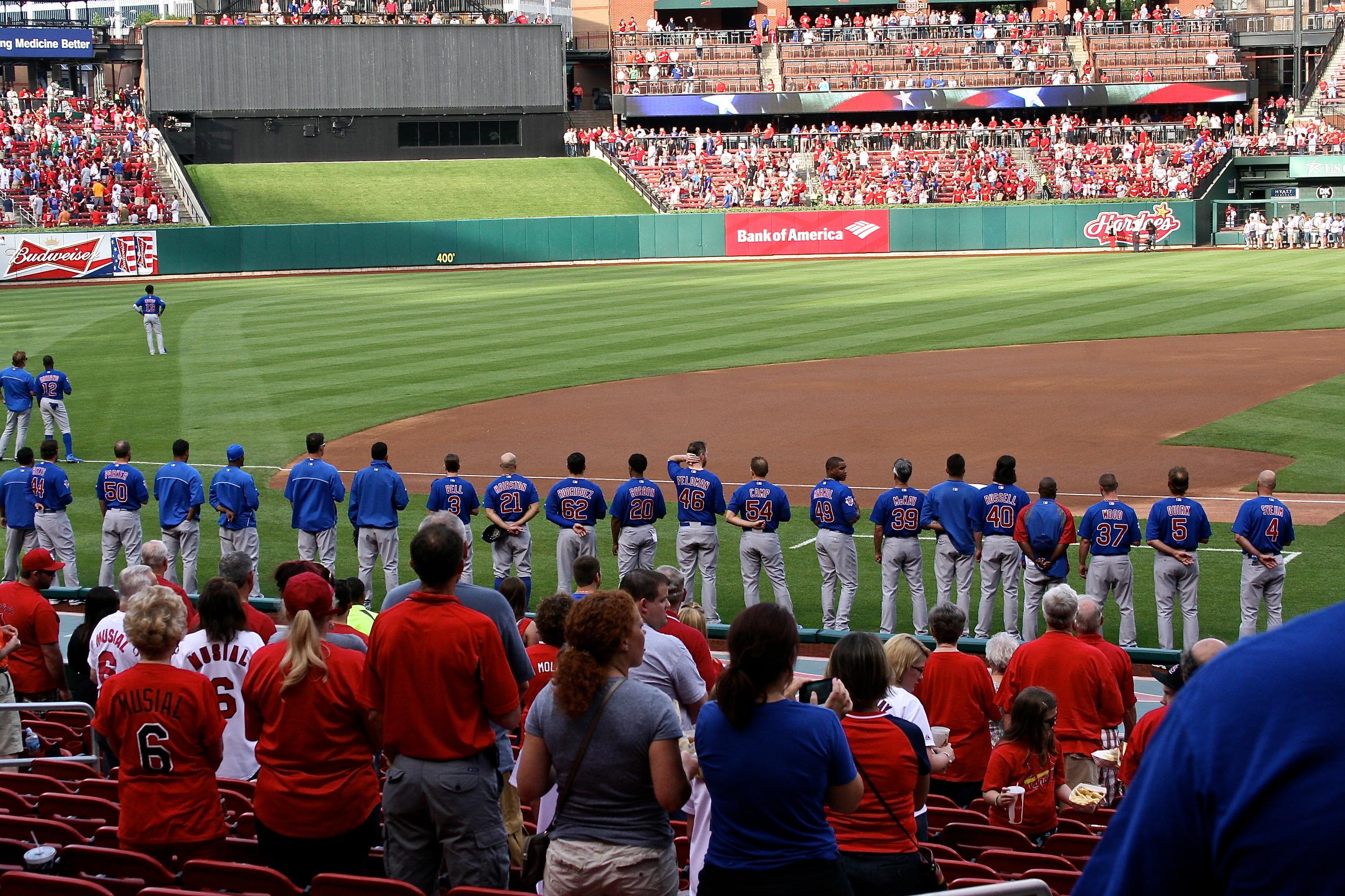 Cubs National Anthem