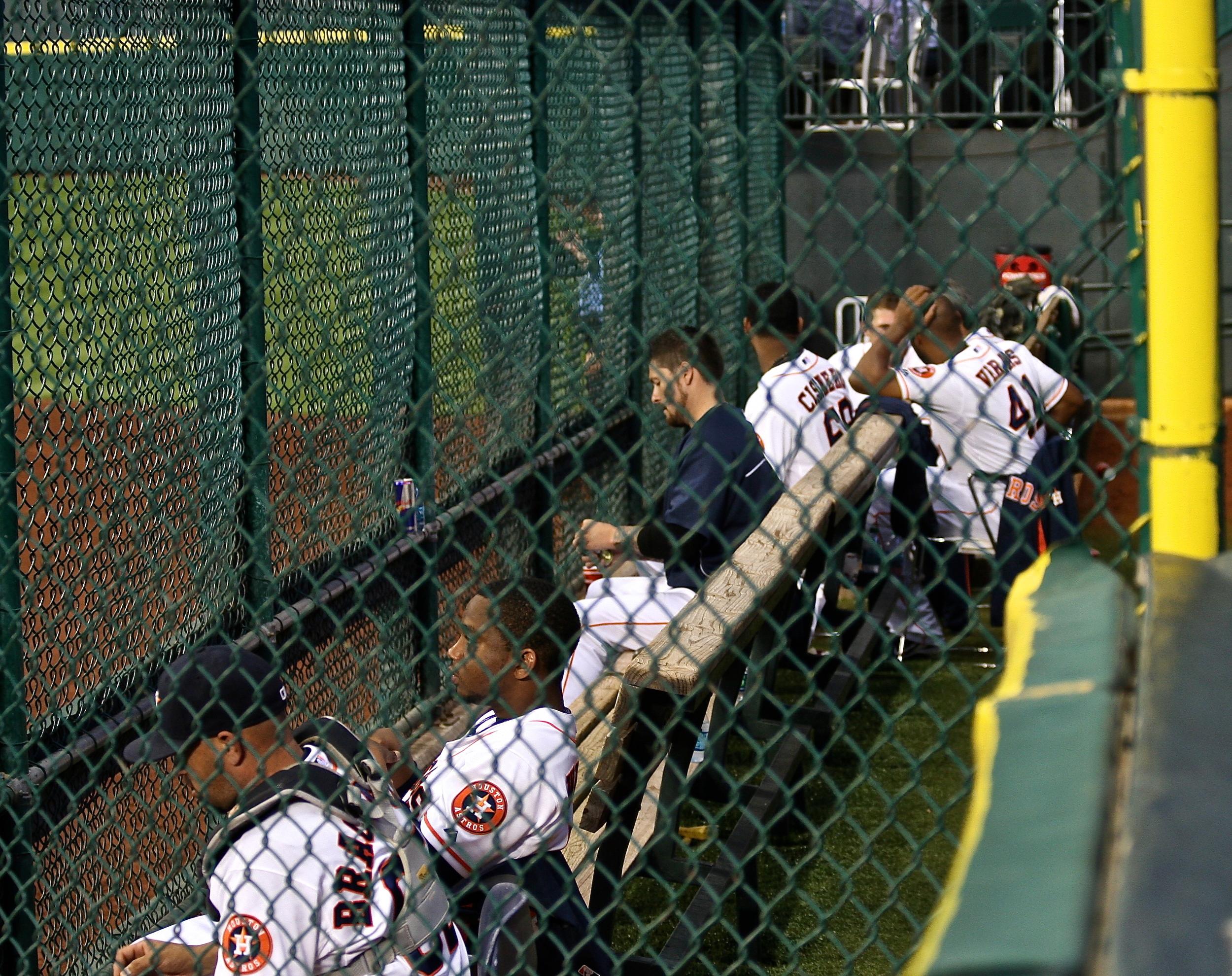 Astros bullpen